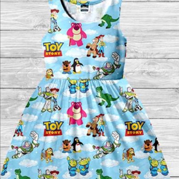 8b3e28aaacc Adorable Ladies Toy Story Disney Bounding Dress NWT